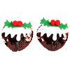 Christmas Pudding Nippel-Sticker