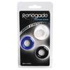 Renegade Stamina Squishy Cock Ring Multipack (3 Pack)