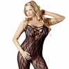 Mandy Mystery Plus Size Lace Crotchless Bodystocking