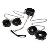 DOMINIX Deluxe Profesional 5 Piece Collar to Wrist and Ankle Restraints Set