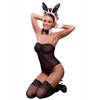 Costume de lapine sexy complet transparent, Exposed