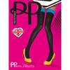 Pretty Polly Colored Top Opaque Hold Up Stockings