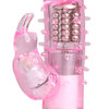 Blush Rotating Rabbit Vibrator with Ticklers