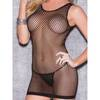 Glitter Something Wanton Fishnet Minidress