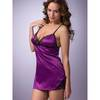 Lovehoney Satin and Lace Plum Babydoll Set