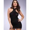 Lovehoney Black Halterneck Mini Dress