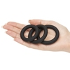 Lovehoney Get Hard Extra Thick Silicone Cock Ring Set (3 Pack)