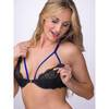 Lovehoney Enchant Me Eyelash Lace Open Cup Bra