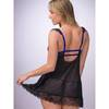 Lovehoney Enchant Me Eyelash Lace Balcony Cup Babydoll