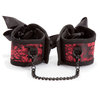 Scandal Corset Wrist Cuffs with Chain