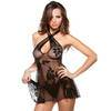 Fantasy Sheer Floral Lace Chemise Set