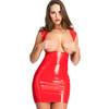 Latex Underbust Spanking Dress with Soft Lining