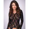 Lovehoney Long Sleeve Lace Garter Bodystocking