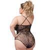 Lovehoney Plus Size Crotchless Lace Spaghetti Strap Teddy