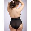 Lovehoney Plus Size Crotchless Halterneck Teddy