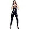 Black Level PVC Catsuit with Full-Length Zip