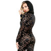 Fantasy Romp Sexy Lace Hooded Catsuit