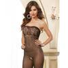 Dreamgirl umwerfender 2-in-1-Bodystocking ouvert & Minikleid