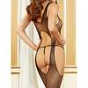 Dreamgirl Fishnet Suspender Tank Crotchless Bodystocking