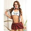 Dreamgirl Nerdy Schoolgirl Costume with Braces