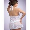 Lovehoney Plus Size Unwrap Me Babydoll in White