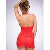 Lovehoney Red Halterneck Mini Dress