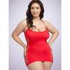 Lovehoney Plus Size Hourglass Red Mini Dress