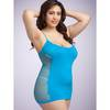 Lovehoney Plus Size Hourglass Turquoise Mini Dress