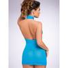 Lovehoney Turquoise Halterneck Mini Dress