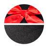 Lovehoney Opaque Black Stockings with Red Bow