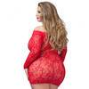 Lovehoney Plus Size rotes Minikleid