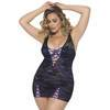 Oh La La Cheri Curves Plus Size Underwired Lace Chemise