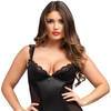 Lovehoney Treasure Me Black Underwired Chemise Set