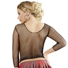 Mandy Mystery Long-Sleeved Fishnet Top