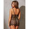 Dreamgirl Plunge Scalloped Lace and Satin Chemise