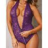 Dreamgirl Access All Areas Stretch Lace Zip Around Teddy
