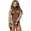 Dreamgirl Fishnet Thong-Back Body and Wrist Cuffs