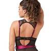 Lovehoney Moonlight Black Crotchless Plunge Body