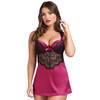 Lovehoney Moonlight Black Plunge Babydoll Set