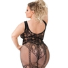 Lovehoney Plus Size Thigh Fidelity Lace Garter Bodystocking