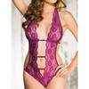 Shirley of Hollywood Plunge Lace Teddy
