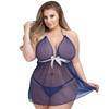 Oh La La Cheri Curves Plus Size Sheer Babydoll Set