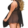 Shirley of Hollywood Plus Size Lace Babydoll