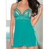 Strappy Cup Lace and Mesh Babydoll