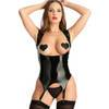 Easy-On Latex Under the Bust Merry Widow