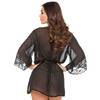 Lovehoney Barely There Sheer Black Robe