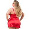 Lovehoney Treasure Me Plus Size Red Underwired Babydoll Set
