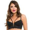 Lovehoney Parisienne Longline-BH-Set (schwarz)