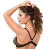 Lovehoney Provocatease Black Fishnet and Lace Cutaway Teddy