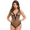 Lovehoney Provocatease Black Fishnet Underwired Backless Body